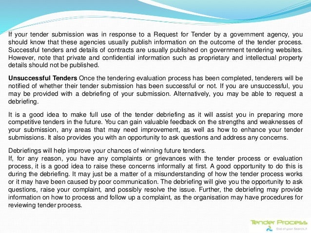 Tender process a complete procurement guide 19 stopboris Images