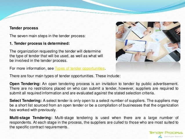 Tender process a complete procurement guide 9 tender process stopboris Images