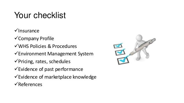Tender writing guide presentation – Write Company Profile Template