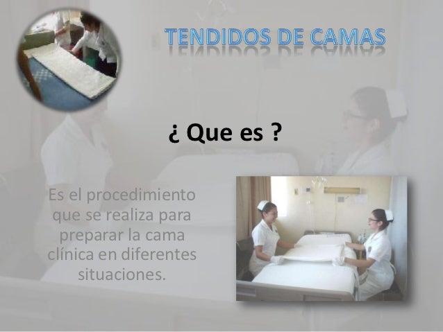 ¿ Que es ?Es el procedimiento que se realiza para  preparar la camaclínica en diferentes     situaciones.