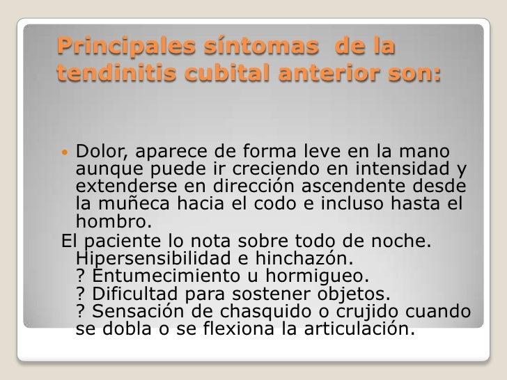 tendinitis de cubital muñeca tratamiento