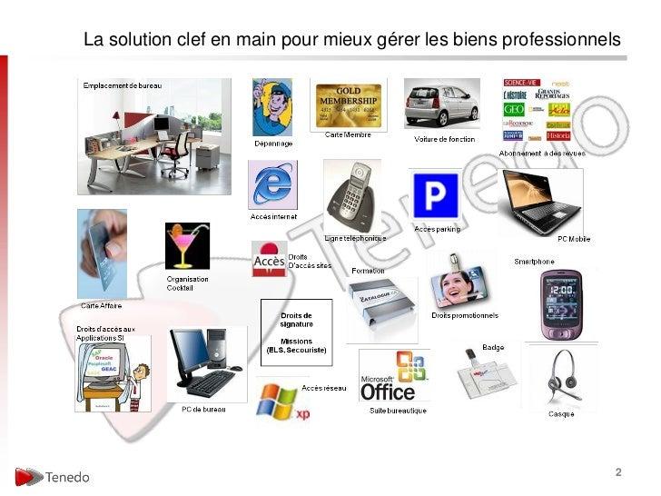 La solution clef en main pour mieux gérer les biens professionnels                                                        ...