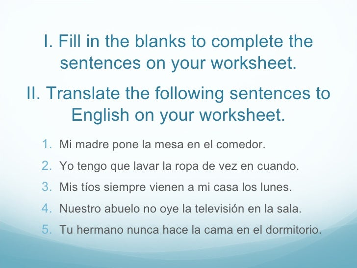 Tener And Other Go Verbs