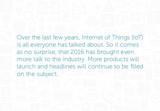 Ten Expert Tips on Internet of Things Security Slide 2