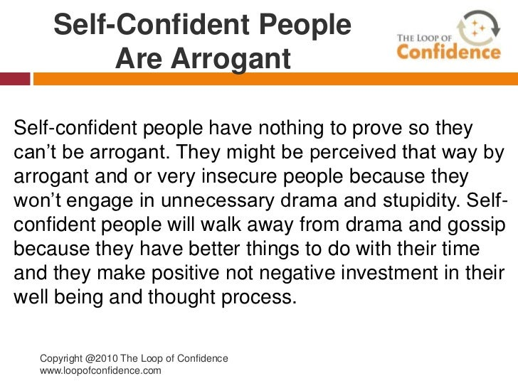 Ten Fallacies People Tell About Self Confidence