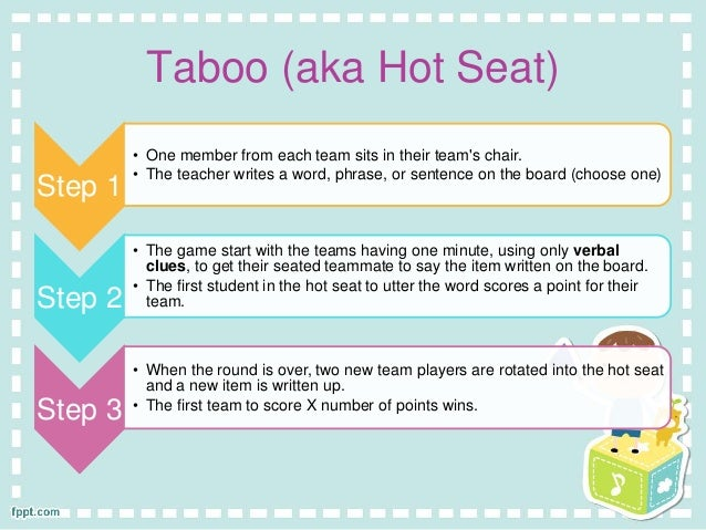 Ten Good Games For Recycling Vocabulary