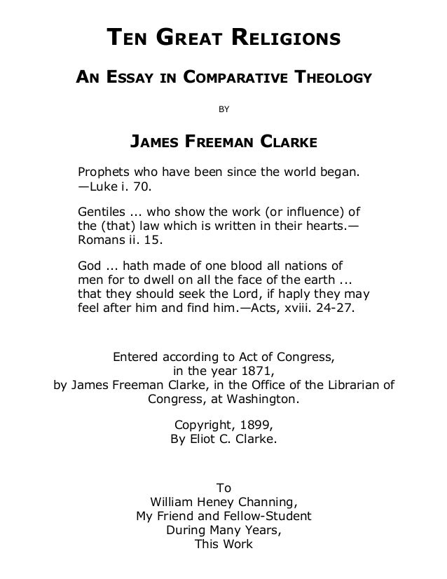 Ten great religions free ebook ten great religions an essay in comparative theology by james freeman clarke prophets who have been fandeluxe Choice Image