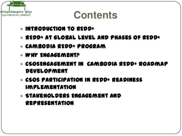 CSO's Engagement in Cambodia Teng rithiny