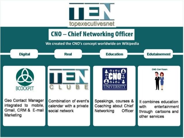 Wikipedia Worldwide CNO – Chief Networking Officer