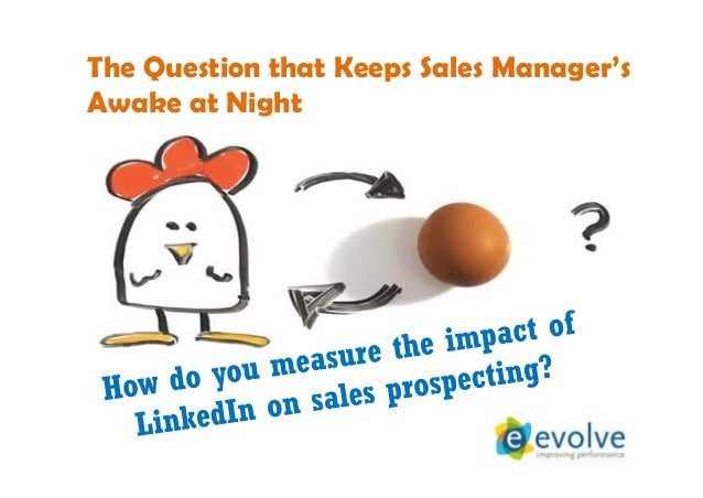 The Question that Keeps Sales Manager's Awake at Night