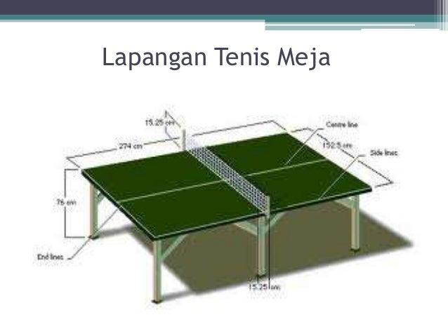 Kumpulan Artikel Bermanfaat Dan Ilmu Pengetahuan Gambar Dan Ukuran Lapangan Tenis Meja