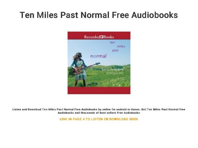 ten miles past normal dowell frances oroark