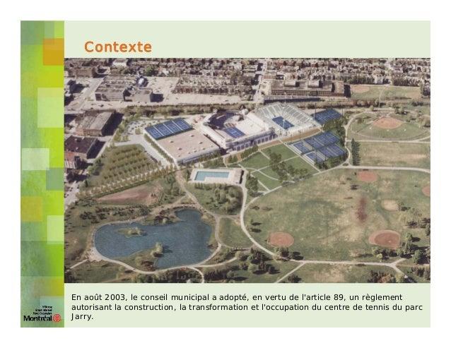 Tennis - présentation ville Slide 2
