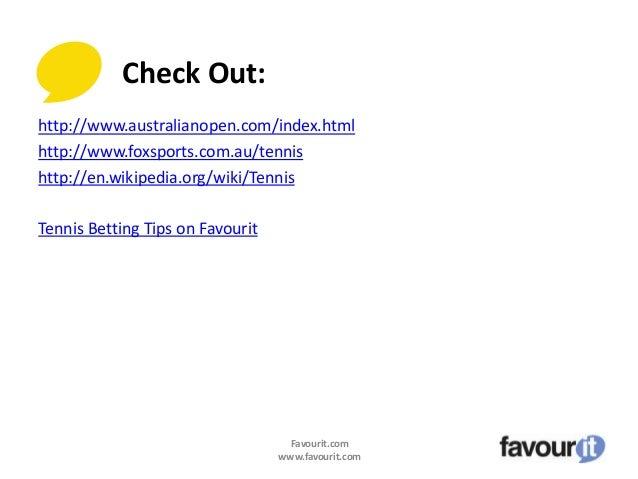 Tennis expert betting tips ajax vs cambuur betting expert tennis