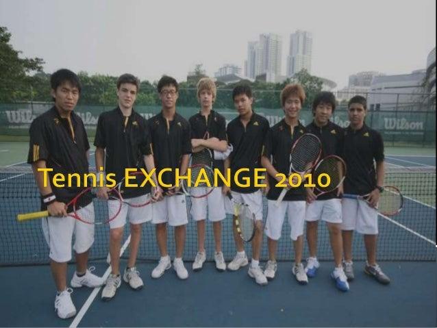 Tennis exchange 2010
