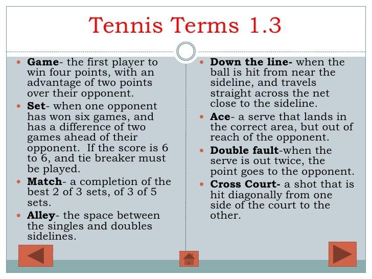 Tennis Powerpoint