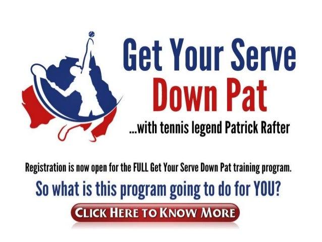 Tennis service techniques