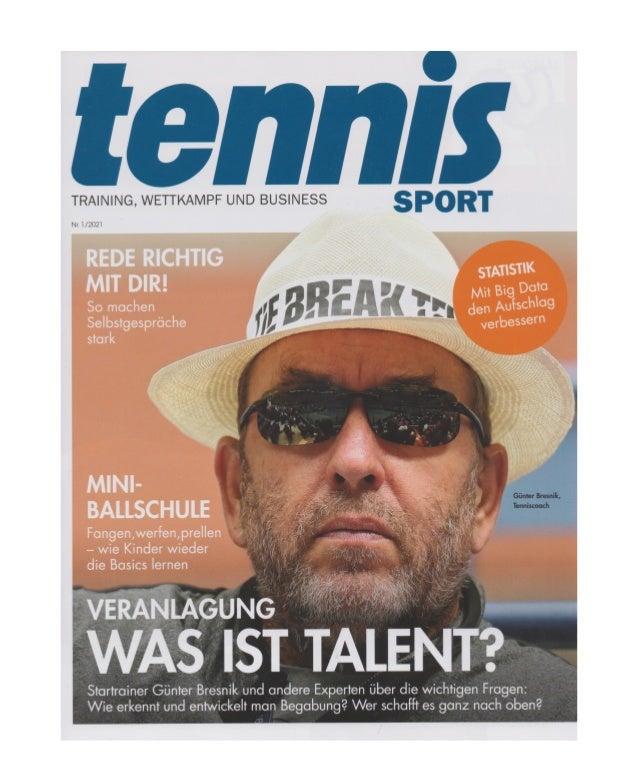 """""""Zeigt her Eure Bälle"""" Die Heidelberger Ballschule Teil 1, TennisSport 1/2021"""