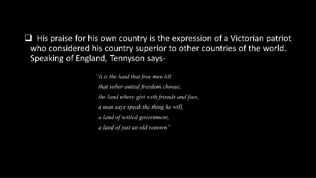 extent tennyson romantic poet Alfred, lord tennyson remains the oxford english dictionary's ninth most-quoted   named poet laureate of great britain upon the death of william  before  taking his degree, he was forced by the death of his father to return.