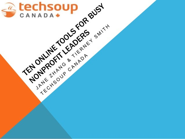 ABOUT TECHSOUP CANADA