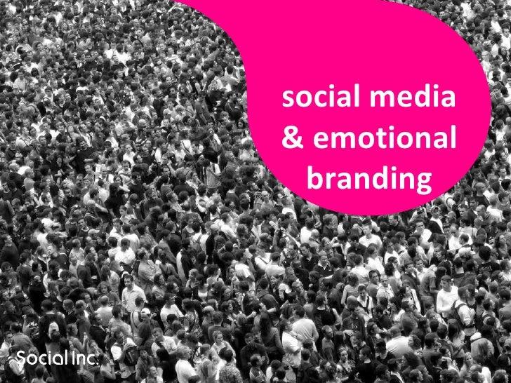 social media & emotional branding