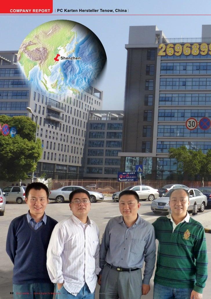 COMPANY REPORT                         PC Karten Hersteller Tenow, China                                ë         Shenzhen...