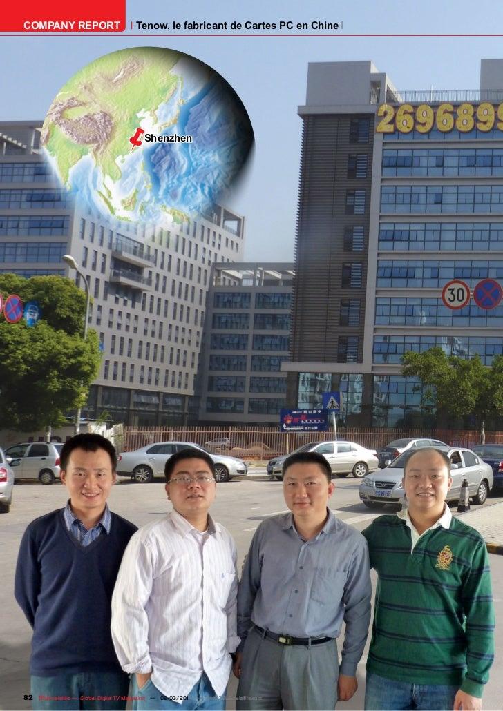 COMPANY REPORT                         Tenow, le fabricant de Cartes PC en Chine                                ë         ...