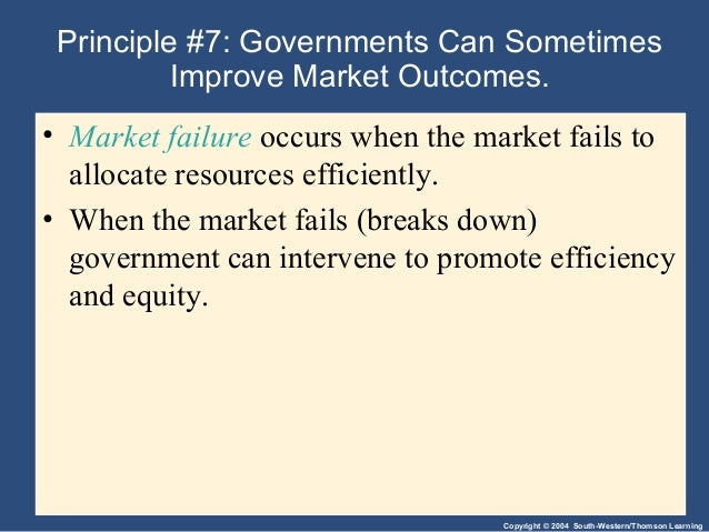 principle of macroeconomics 10 principles of economics  gregory mankiw in his principles of economics outlines ten principles of  note that the principle states that the government.