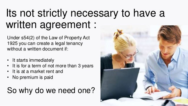 Ten Reasons Why Landlords Need To Have A Written Tenancy Agreement