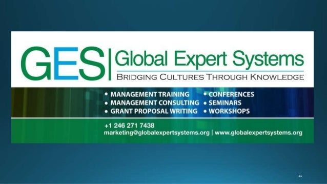 Ten Reasons Why Global Expert Systems Choose Barbados - A Conference Destination