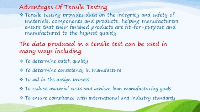 Tensile Testing Of Polymers