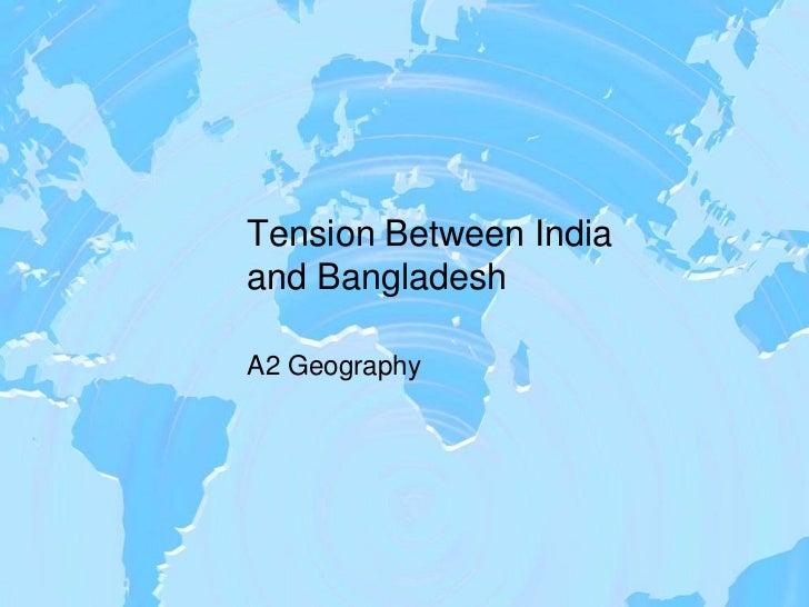 relationship between india and bangladesh
