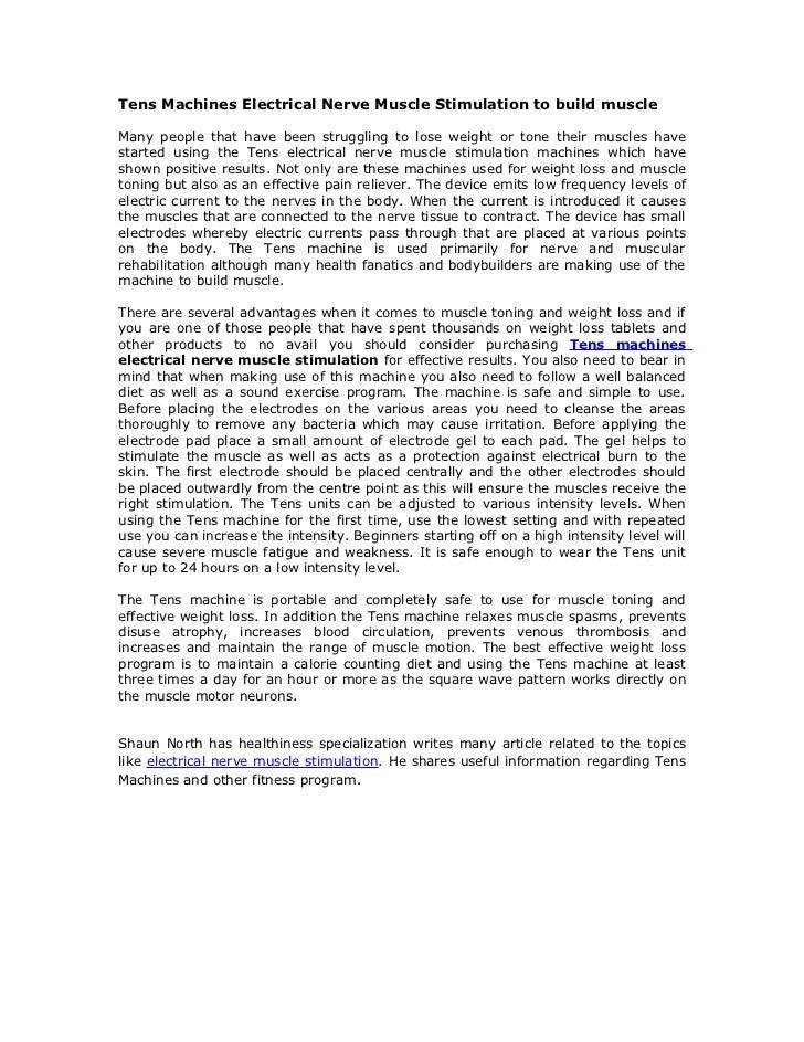 nerve and muscle stimulator pdf
