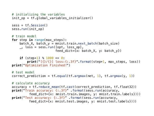 "tf.variable_scope() var1 = tf.Variable([1], name=""var"") with tf.variable_scope(""foo""): with tf.variable_scope(""bar""): var2..."