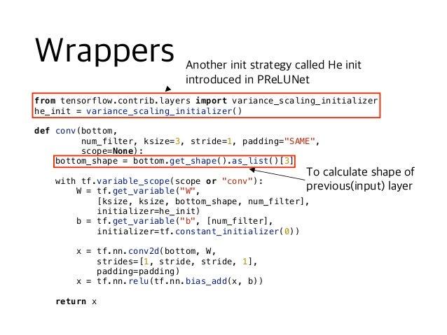 keep_prob = tf.placeholder(tf.float32, None) def conv_net(x, keep_prob): x = tf.reshape(x, shape=[-1, 28, 28, 1]) conv1 = ...