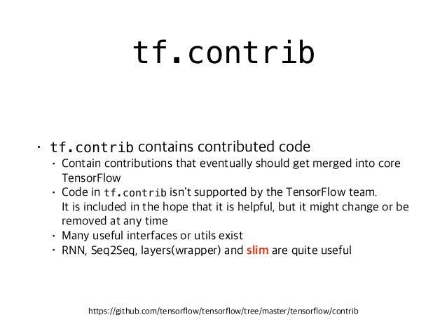 # 1. simple network generation with slim net = ... net = slim.conv2d(net, 256, [3, 3], scope='conv3_1') net = slim.conv2d(...
