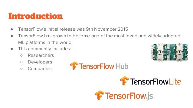 Tensor flow 2 0 what's new
