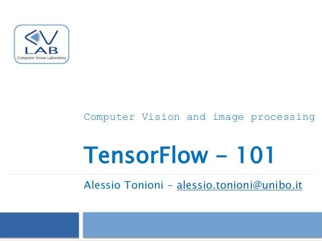 Tensorflow - Intro (2017)