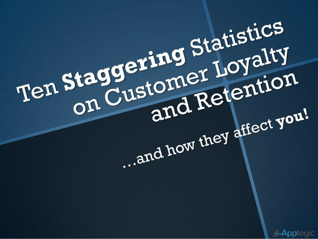 We all know customerloyalty and retention drive…