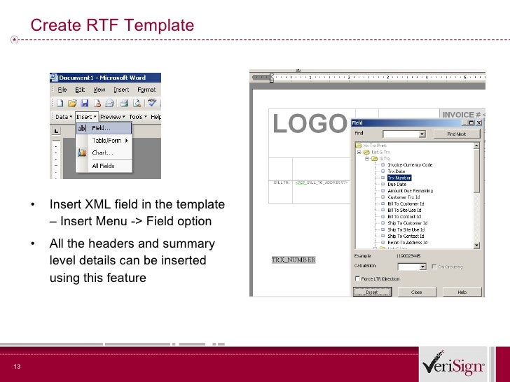 how to create rtf template for xml publisher - ten steps to empowerment