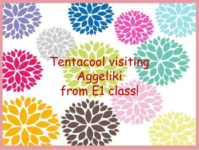 Tentacool visiting Aggeliki from E1 class!