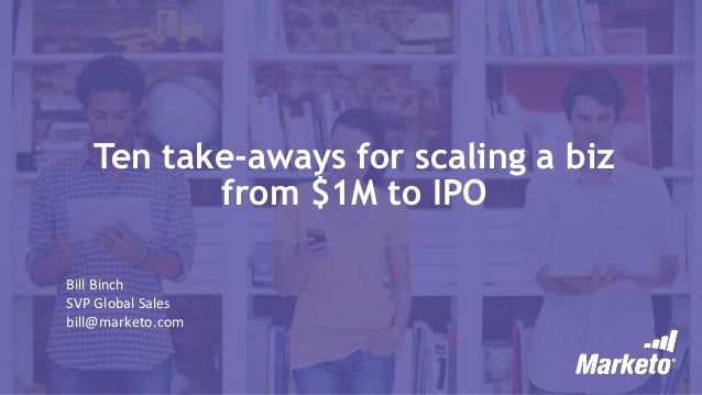 How to take a company to ipo