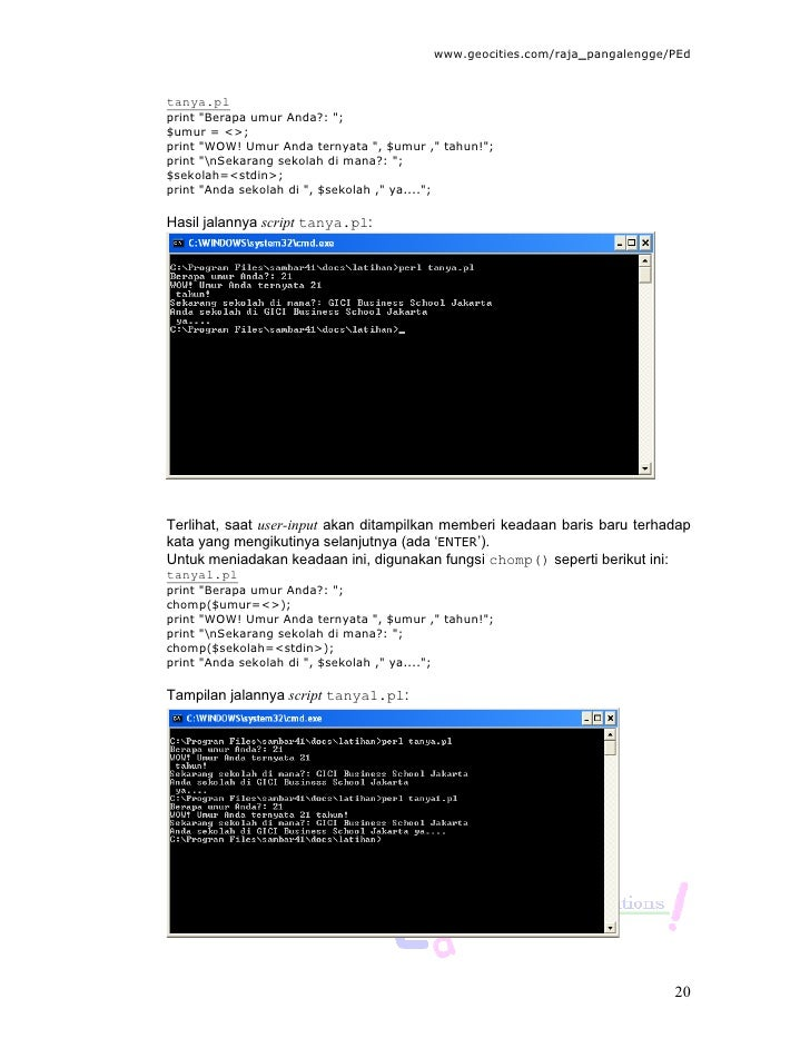 how to run perl script