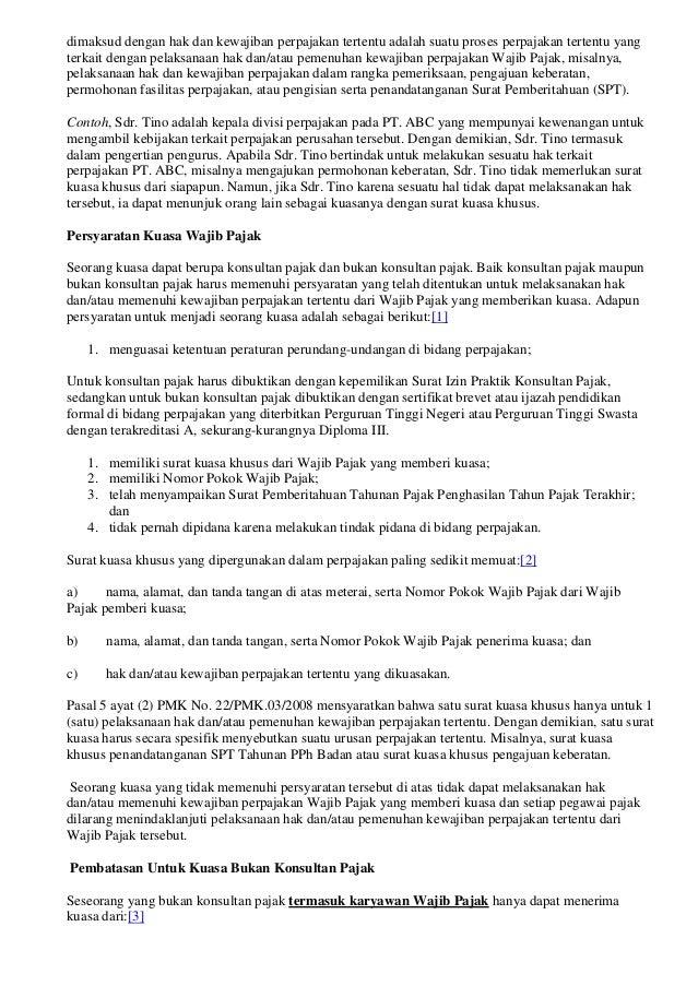 Tentang penandatangan dokumen perpajakan