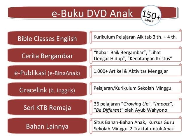 e-Buku DVD Anake-Buku DVD Anak Bible Classes English Cerita Bergambar e-Publikasi (e-BinaAnak) Gracelink (b. Inggris) Seri...