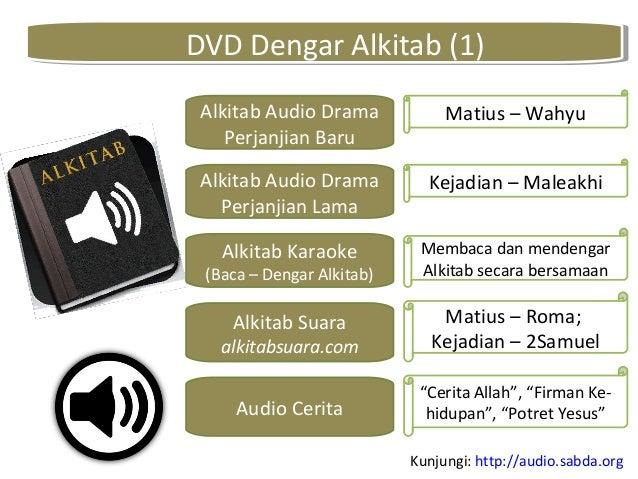 DVD Dengar Alkitab (1)DVD Dengar Alkitab (1) Alkitab Audio Drama Perjanjian Baru Alkitab Audio Drama Perjanjian Lama Alkit...