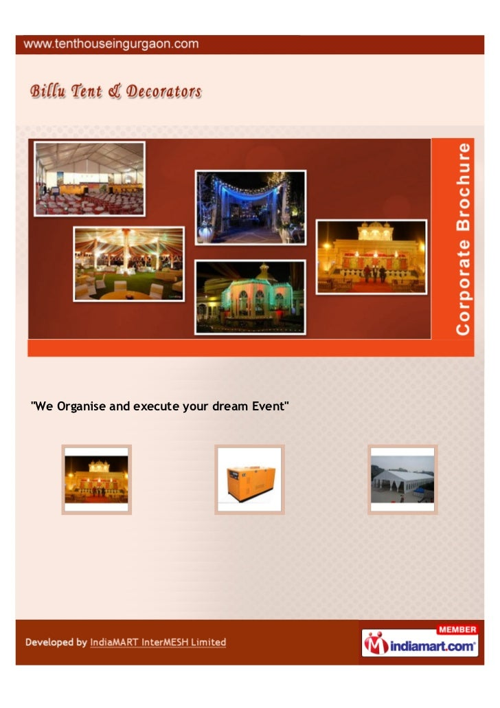 """We Organise and execute your dream Event"""