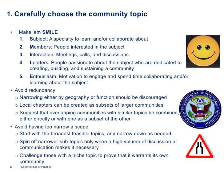 Ten tips for leading communities(deloitte) Slide 2