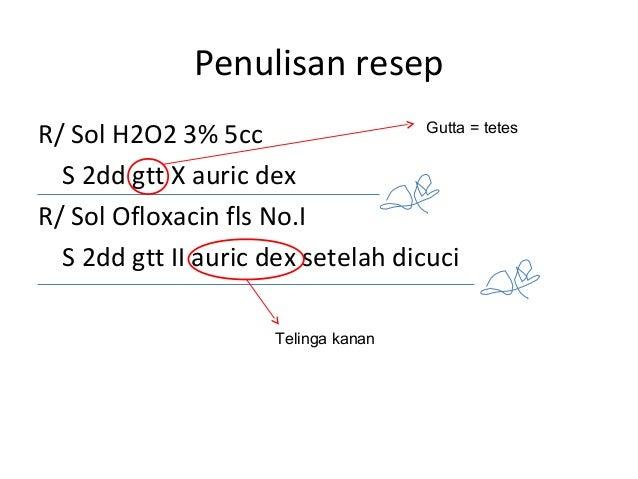Tentir Menulis Resep Fkui2007