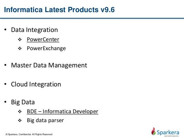 Ten tools for ten big data areas 01 informatica